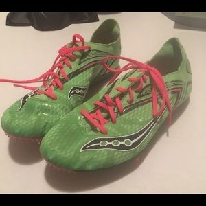 Saucony Endorphin LO3 Size 9.5 Track Spikes